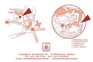 plan bibliothèque Solvay